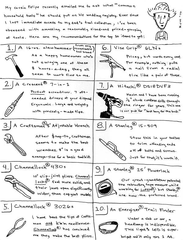 Farmer bob comics for Gardening tools list and their uses